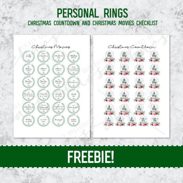PERSONAL RINGS FREEBIE