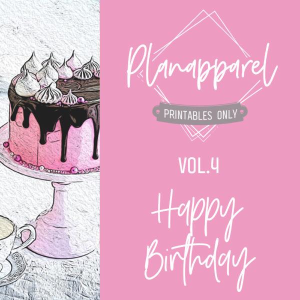 Vol.4 Happy Birthday