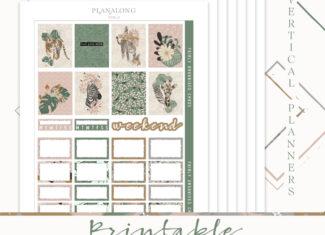 PLANALONG VOL.2 STICKER KIT – THE MAIN KIT – Printable Sticker Kit
