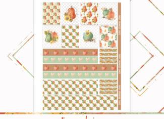 Autumn Freebie – Printable Planner Sticker Kit