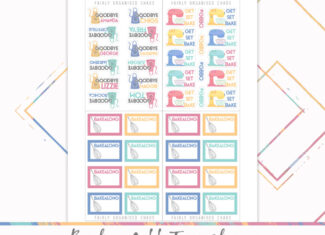 Bake Off 2021 Tracker – Colourful Printable Stickers